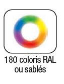 Dossier Volets Roulants Coloris RAL