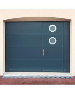 PORTE DE GARAGE SECTIONNELLE PLAFOND ERMITAGE PERFORMANCE